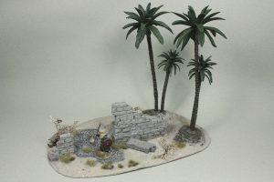 Mauerreste mit Brunnen