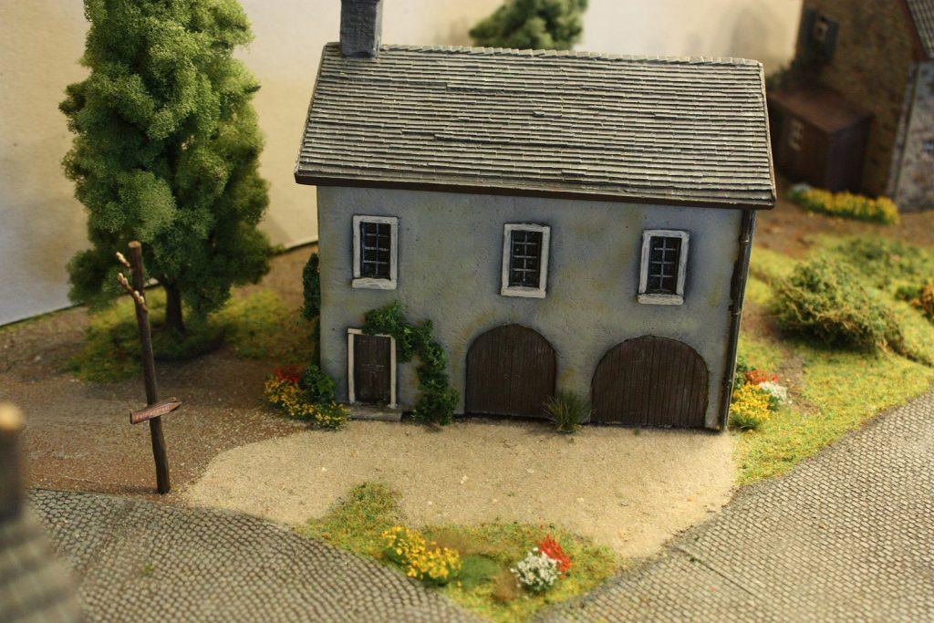 Werkstatt aus Gießkeramik - ehemals AMS-Miniaturen